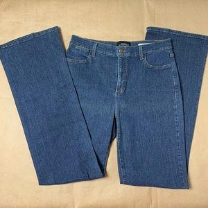 NYDJ bootcut medium wash jeans size 10